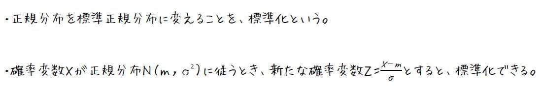 正規分布の応用【高校数学B】(攻略ポイント)