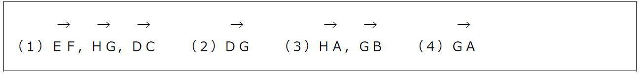 空間ベクトルの相当【数B】(答え)